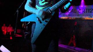 ANNIHILATOR Jeff Waters - No Zone (Clinic Sevilla 21-9-2011)