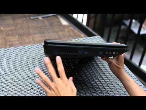 Trên tay Laptop chơi game MSI GT70