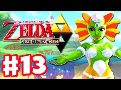 The Legend of Zelda: A Link Between Worlds - Gameplay Walkthrough Part 13 - Swamp Palace (3DS)