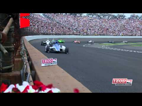 2012 Indy 500 Highlights