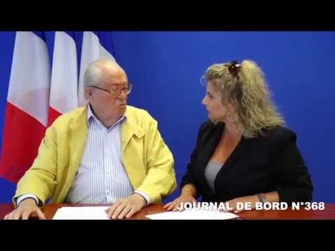 Journal de bord de Jean-Marie Le Pen n°368