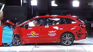 2016 Subaru Levorg CRASH TESTS. YouCar Car Reviews.