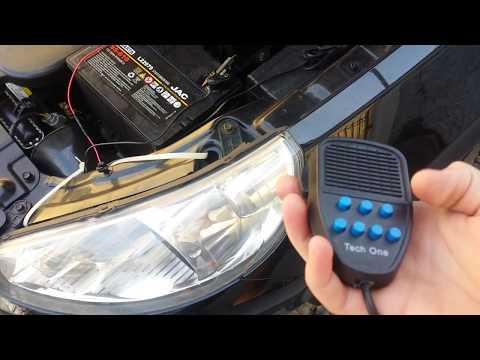 Gui50 - Mostrando a Sirene usada em Carros de Emergência - Ambulância / Polícia