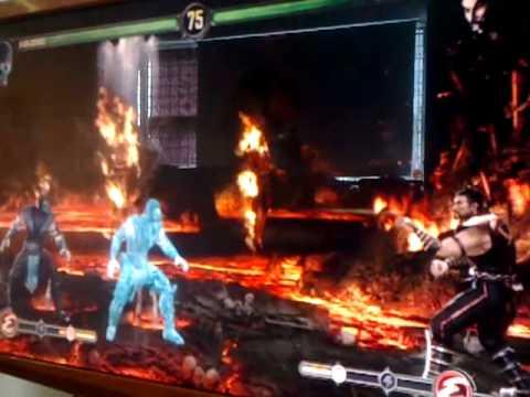 Mortal Kombat: Sub-Zero vs Shang Tsung