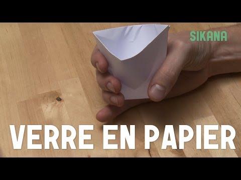 Coomment faire un gobelet en papier ?