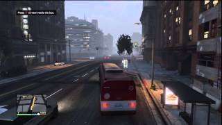 Grand Theft Auto V (GTA 5) ➽ Mission #38 ✮ The Bus Assassination ✮ 100% Gold Medal Walkthrough