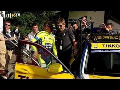 Alberto Contador uit de Tour - RTL 7 TOUR DU JOUR