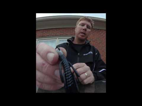 Greg Vinson turns a swimbait hook into a shaky head