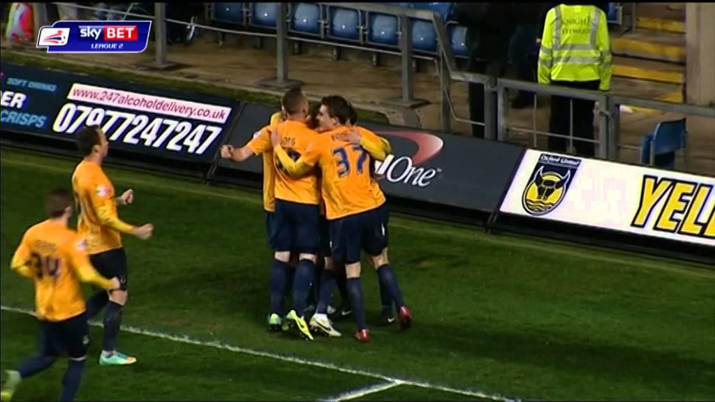 Oxford United 1-0 Hartlepool United