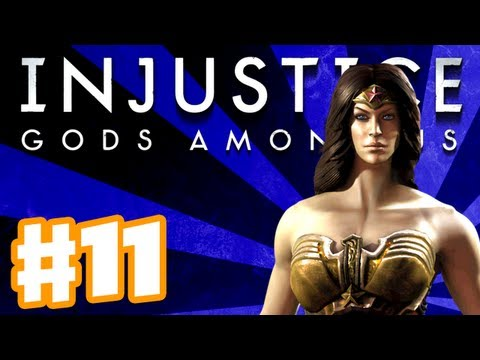 Injustice Gods Among Us - Gameplay Walkthrough Part 11 - Wonder Woman (PS3, XBox 360, Wii U)