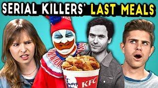 Serial Killer's Last Meals on Death Row (React)