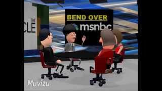 MSNBC The cycle: colored Load