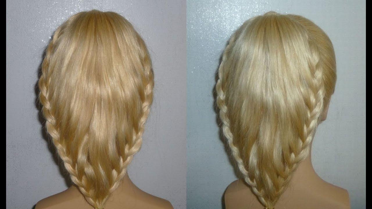 einfache frisuren haare zopf mal anders flechten hochsteckfrisur easy prom braid hairstyles. Black Bedroom Furniture Sets. Home Design Ideas