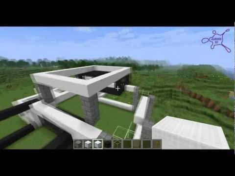 -Minecraft- [TUTO] Maison moderne n°1