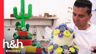 ¡Un jardín de pasteles! | Cake Boss | Discovery H&H