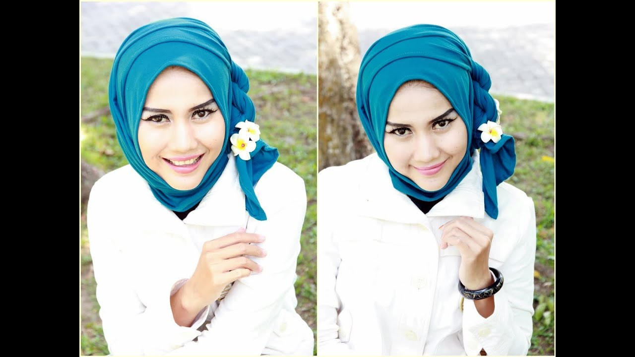 Tutorial Hijab Pashmina Kaos Tutorial Hijab Simple ...