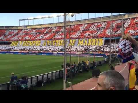 Atletico Madrid - Chelsea, semifinal Champions League 2014, Vicente Calderon