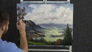 Paint With Kevin Hill Distant Valley