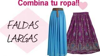 Faldas largas de moda Otoño/Invierno 2015