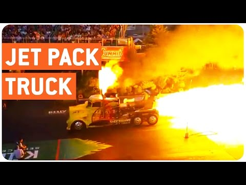 Truck mit 3 Turbinen und unfassbarer Beschleunigung
