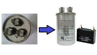 Reemplazar capacitador doble por dos individuales
