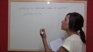 Química práctica. Ejercicio 9 Estructura atómica