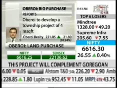 NDTV Profit Market Check Oberoi Realty wins bid for Tata Steel's land in Borivali Mr. Vikas Oberoi