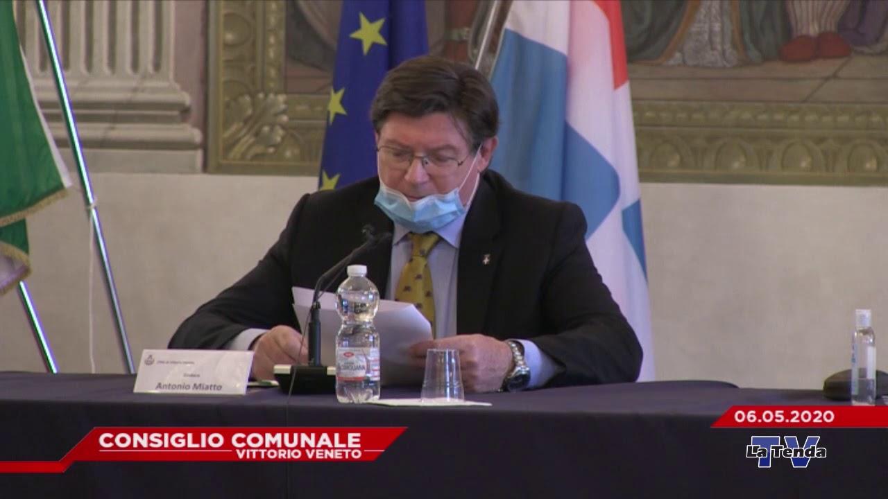 CONSIGLIO COMUNALE VITTORIO VENETO - Seduta del 06.05.2020