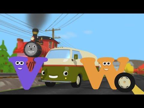 Limba engleză pentru copii - Descopera literele V si W