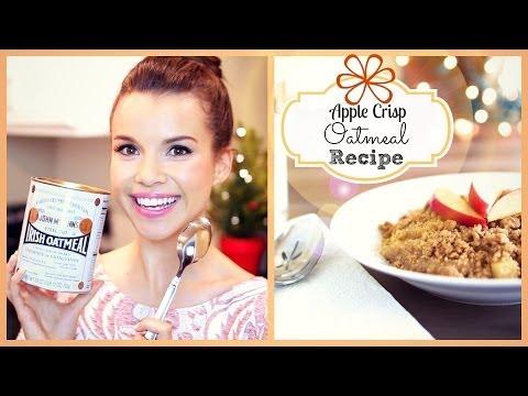 Apple Crisp Oatmeal Recipe ❄ #DIYDecember Day 4