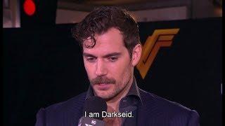 Henry Cavill's mustache 'Justice League' World Premiere