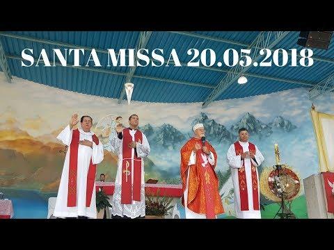 Santa Missa | 20.05.2018 | Padre José Sometti | ANSPAZ