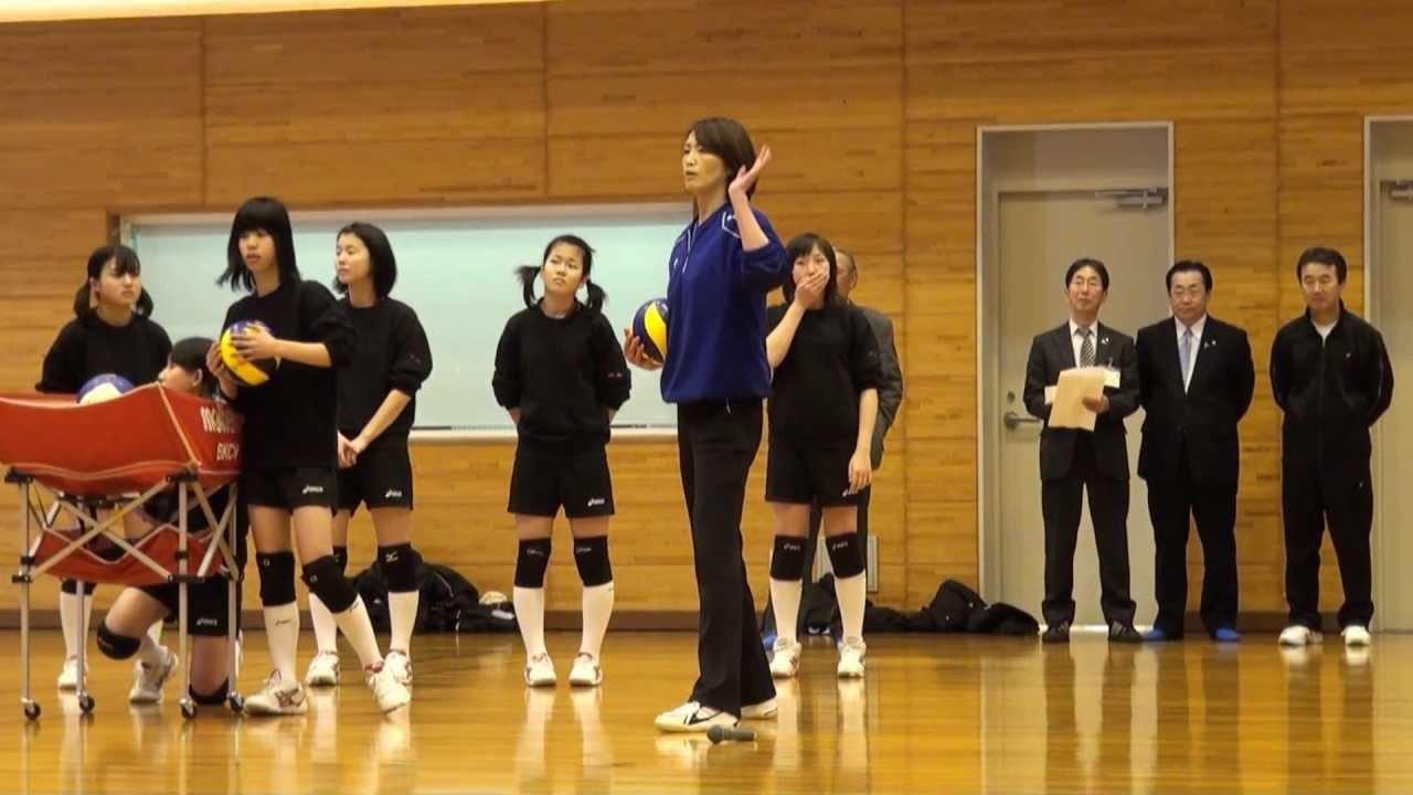 ... バレーボール教室 2012-03-24