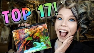 TOP 17 Makeup Products of 2017! | Grav3yardgirl