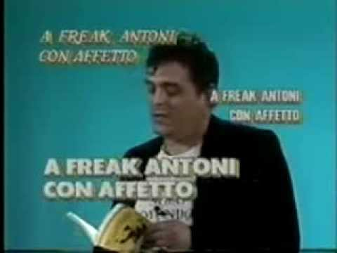 Freak Antoni - Non c'è gusto in Italia ad essere intelligenti (Skiantos)