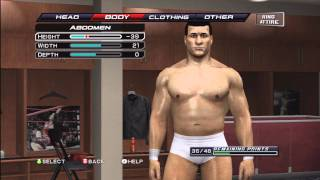 How To Make Alberto Del Rio On WWE Smackdown Vs Raw 2011