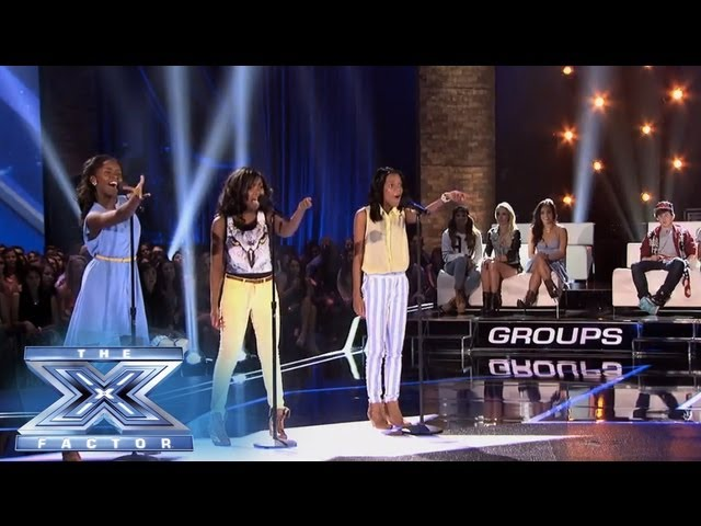 "Glamour Brings ""The Cups"" to the Party - THE X FACTOR USA 2013"