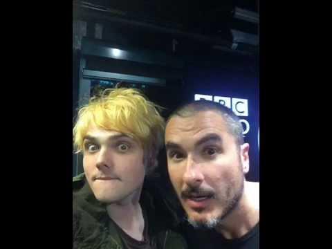 Gerard Way on BBC Radio 1 12/6/14 (Part 1)