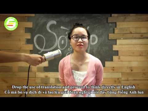 Cách nghĩ bằng tiếng Anh để tăng phản xạ giao tiếp :D