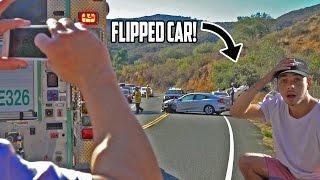 Car Crash Caught On Camera Vlog