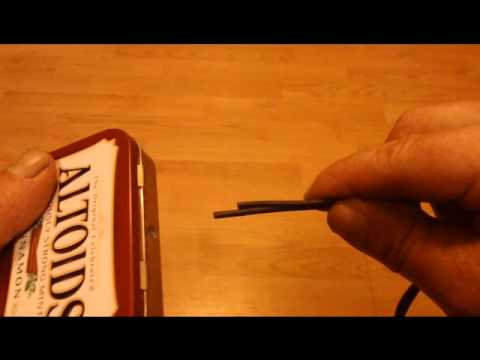 How to make Altoids box splitter with RCA jacks