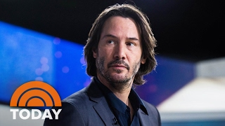 Keanu Reeves On Reuniting With 'Matrix' Co-Star Laurence Fishburne In 'John Wick 2' | TODAY