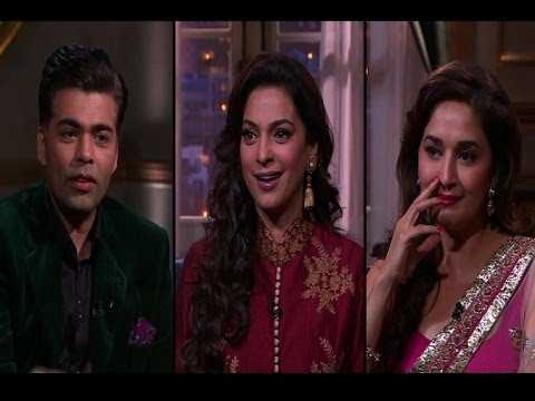 Madhuri, Juhi on Koffee with Karan