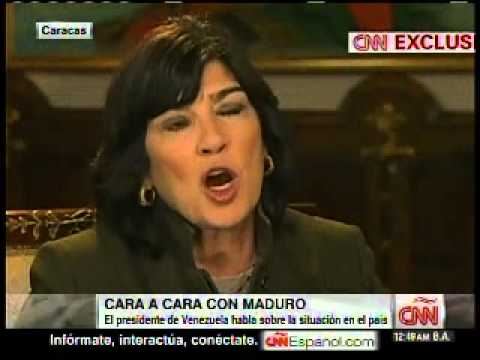 Maduro CNN Amanpour2