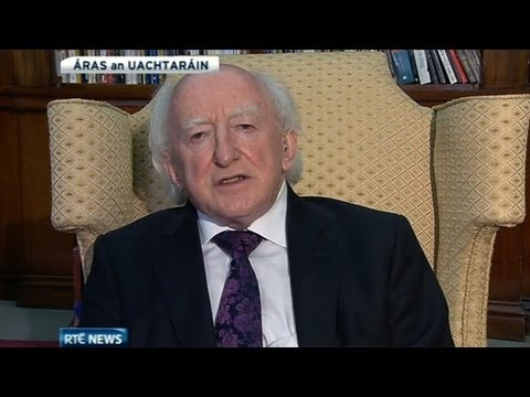 President Michael D Higgins pays tribute to his friend Seamus Heaney | RTÉ News