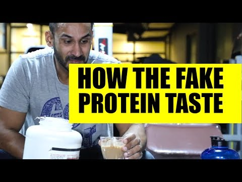 How the fake protein taste like
