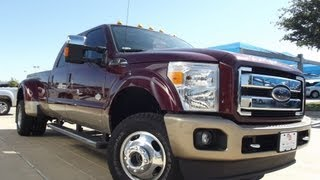 2012 Ford F350 King Ranch 4x4 Dully Crew Cab Diesel