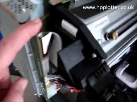 Designjet 500/800 Series - Showing 11:11 error code on your printer