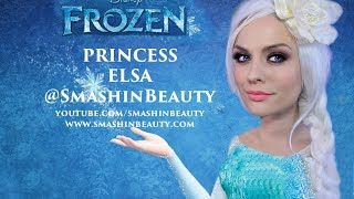 Disney's Frozen Princess Elsa Makeup Tutorial (Ice Queen