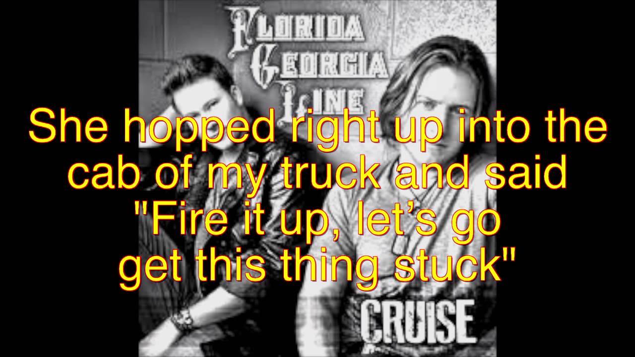 Florida georgia line cruise lyrics youtube